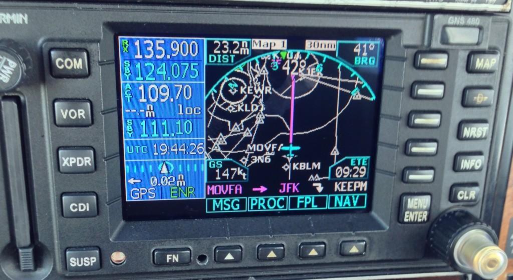 GNS480 WAAS GPS