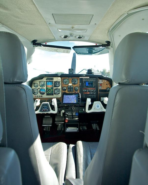 More N321TB cockpit